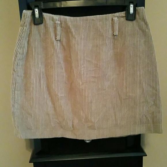 Express Dresses & Skirts - Vintage corduroy Express skirt